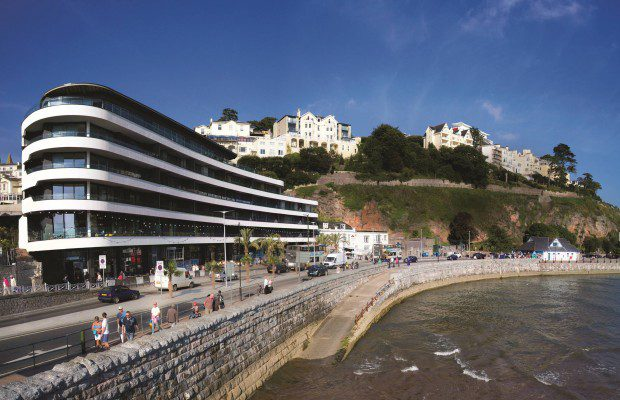 Royston Glass use AVKO Glass Paint in prestigious Torquay development