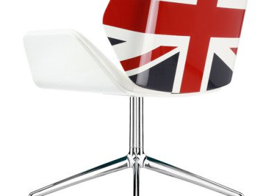 Arcol Design uses AVKO Specialist Paint for Iconic Britannia Chair