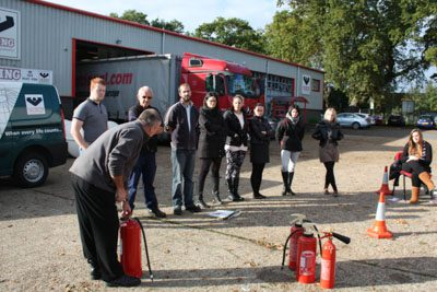 AVKO Playing With Fire – Fire Extinguisher Training
