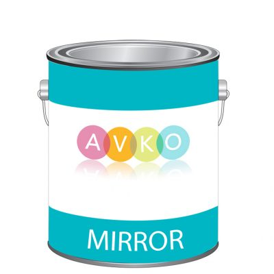 Mirror paint can