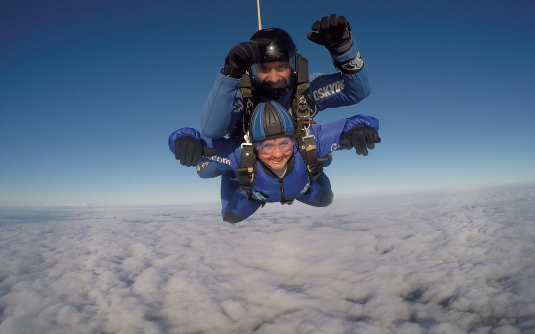 Diane's Charity Sky Dive for Cancer